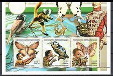 Central Africa 1999 Scouting Butterflies - Mi. 2096-98 - from sheet - MNH**