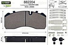 VALEO Brake Pad Set Fits IVECO Eurocargo MAN M Tgm MERCEDES Atego 4210710