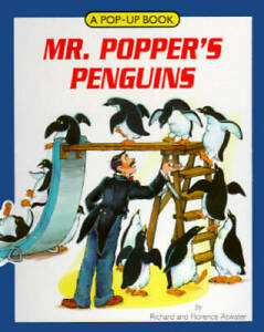 Mr. Popper's Penguins/a Pop-Up Book: A Pop-Up Book - Hardcover - GOOD
