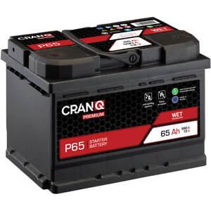Autobatterie 65Ah 12V Starterbatterie statt 61Ah 62Ah 63Ah 64Ah KFZ Auto PKW