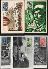 C137508/ FRENCH ALGERIA – YEARS 1954 - 1957 USED SEMI MODERN LOT