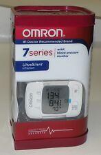 BRAND NEW Omron - 7 SERIES Wrist Blood Pressure Monitor - White BP652