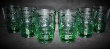 Bacardi Rum 6x Gläser 36cl grün getönt Mische Bar Glas Longdrink NEU