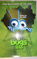 """A Bug's Life (1998) original one-sheet movie poster (27""""x40"""") D/S """"born to be.."""""""