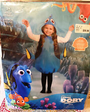 Disguise Inc. Disney Finding Dory Child Costume Size 3+ Fits up to Size 6 New!