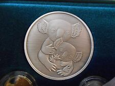 Koala Silver Medalion