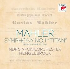 Mahler: Sinfonie Nr. 1 Titan - Thomas Hengelbrock (2014, CD NEUF)