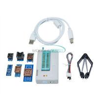 TL866II Plus Programmer USB EPROM FLASH BIOS 7 Adapter Socket Extractor TL866