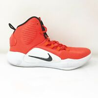 Nike Mens Hyperdunk X TB AR0467-800 Orange Running Shoes Lace Up Mid Top Size 7