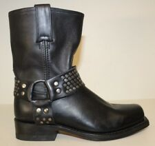 Kenneth Cole Womens Boots Sz 5.5 Black Leather Studded Harness *FRYE* Harness