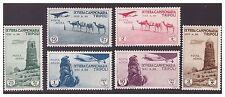 LIBIA 1935  IX°   FIERA DI TRIPOLI - PA   SERIE NUOVA **