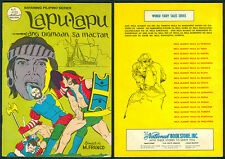 Philippine National Bayaning Pilipino Illustrated Komiks LAPU-LAPU Comics
