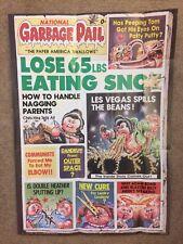 1986 Garbage Pail Kids Poster ~ National Garbage Pail #11 ~ Vintage~ Topps ~ New