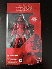 Hasbro Star Wars Black Series Carbonized Sith Trooper
