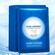 Moisturizing Hyaluronic Acid Facial Skin Care Face Mask Sheet Pack Essence Kit