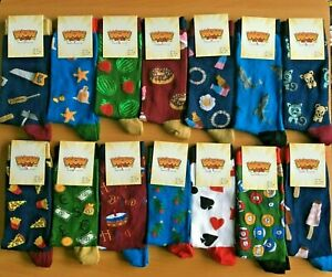 Ladies BAMBOO Novelty Socks UK SIZE 4-7 - Funny / Food / Animals / Birthday Gift