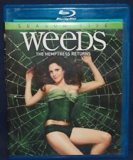 WEEDS: SEASON FIVE (BLU-RAY DISC, 2010, 2-DISC SET)