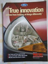 Ford Ka, Fiesta & Puma by Autocar & What Car brochure 1998