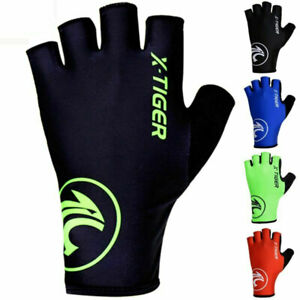 Cycling Gloves Half Finger Shockproof Protect Breathable Bicycle MTB Bike Racing