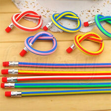3-50pcs Colors Funny Bendy Flexible Soft Pencils With Eraser for Kids Study Gift 3pcs