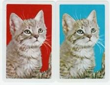 vintage Playing cards swap cards cats