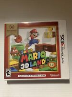 Super Mario 3D Land Nintendo 3DS Brand New Factory Sealed WHITE