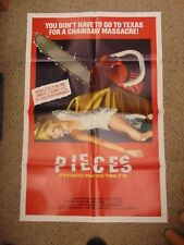 CHRISTOPHER GEORGE LINDA DAY PAUL SMITH PIECES   ORIG 27X41 MOVIE POSTER MP19