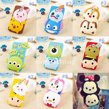 Funny 3D Cute Kids Cartoon Soft Silicone Case Cover For Samsung iPhone6S Plus 5S