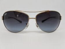 Sonnenbrille/Sunglasses Ray-Ban RB 3386 003/8G Kunststoffglas Frame Italy Size L