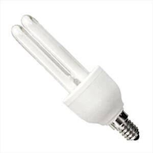 Casell 20w 240v SES E14 Compact Fluorescent Fly Killer Black Light Bulb BL368