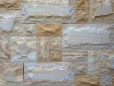 Veined Sandstone Random Loose Stone Stackstone Wall Cladding Tiles Premium