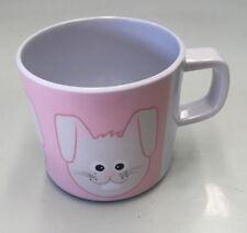 ZAK DESIGNS RABBIT KIDS MELAMINE DRINKING CUP