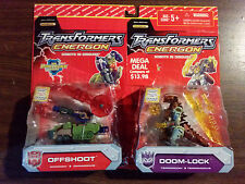 Transformers Energon Lot of 4 Doom-Lock Offshoot Arcee Strongarm NEW Value pack