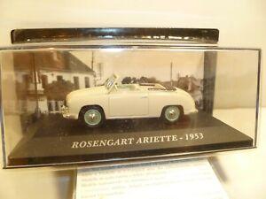 1/43  IXO ROSENGART ARIETE  voitures française d autrefois