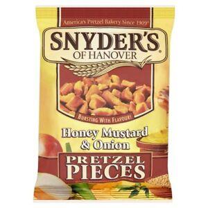 Snyders Pretzel Pieces Honey Mustard & Onion 125 g Pack of 10