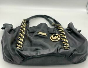 MICHAEL KORS purse Est 1981 Hobo Black bag
