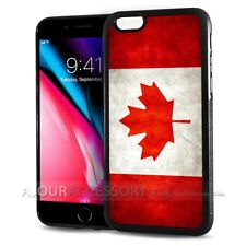 ( For iPhone 8 ) Back Case Cover AJ10830 Canada Flag
