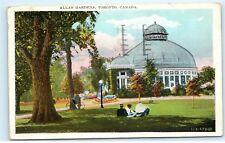 *1920s Allan Gardens Bike Bicycle Toronto Canada Old Vintage Postcard C41
