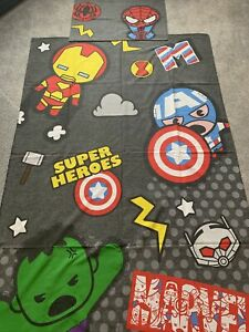 Next Childrens Marvel Reversible Bed Set, Single Bed