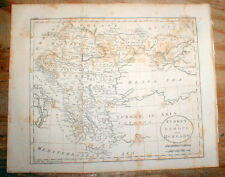 Original 1809 map of GREECE as part of TURKEY before GREEK WAR of INDEPENDENCE
