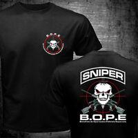 BOPE Tropa De Elite Sniper Unit Scout Brazil Police Special Forces Black T shirt