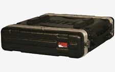 "Gator case 2 space amp rack 18.75"" deep New"