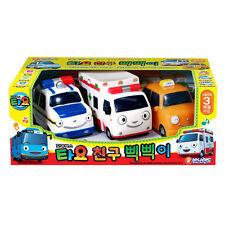 The Little Bus TAYO Friend Pik Pik 3 Pcs Nuri Pat Alice - Korean Animation Toy