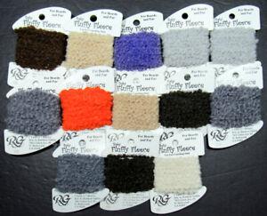 13x Needlepoint/Embroidery THREAD R GALLERY Baby Fluffy Fleece fluffy wool-NJ16