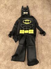 LEGO BATMAN HALLOWEEN COSTUME~Gently Used Once~SIZE IS BOY'S Medium 7-8