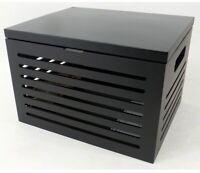 BirdRock Home Bamboo Rolling File Storage Organizer, Storage, & Toy Box W/ Lid