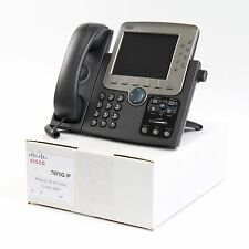 Cisco CP-7970G SIP VoIP IP Phone PoE Bulk