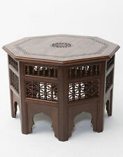 Wooden Octagon Side & End Tables