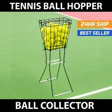 Tennis Ball Pick Up Hopper | 72 Balls | Portable Basket | Tennis Ball Storage