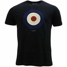 Mens Ben Sherman Classic Cotton Target T-Shirt 47812 - Navy Blue
